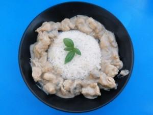 recettes poulet coco