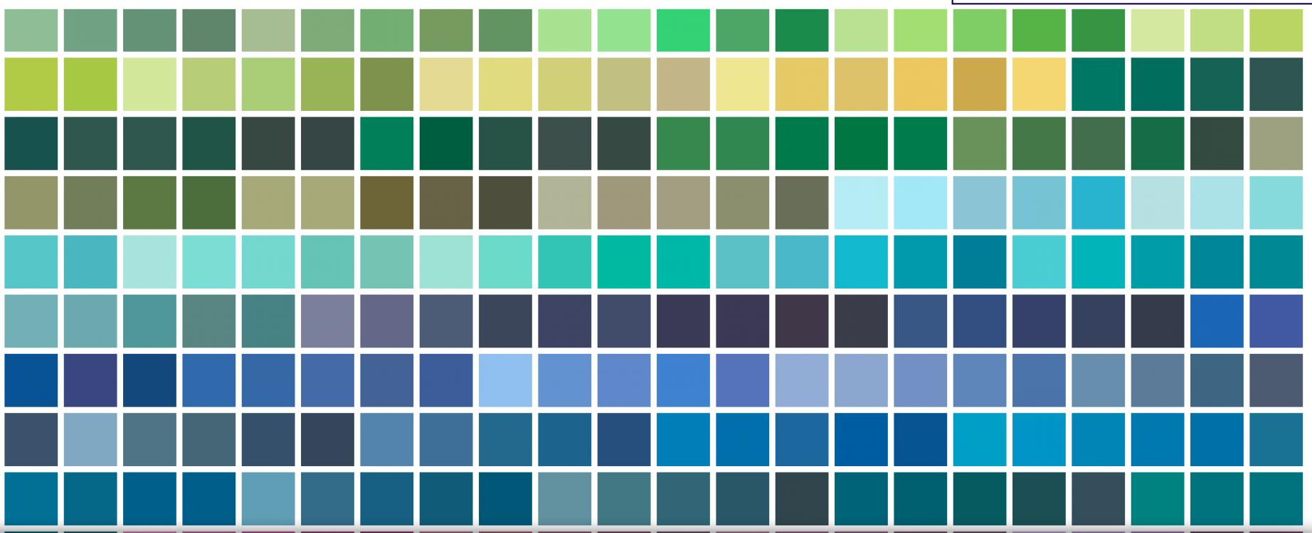 Les couleurs fortes : un choix osé ?