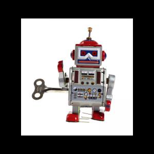 déco enfant : robot rétro