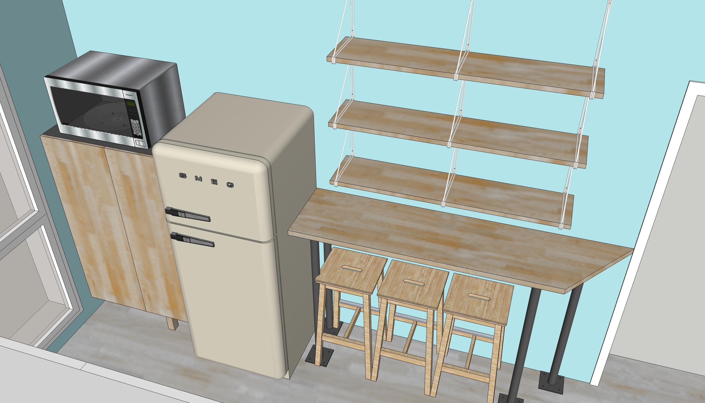 r novation de cuisine les plans sur la com te cyanotype le blog. Black Bedroom Furniture Sets. Home Design Ideas