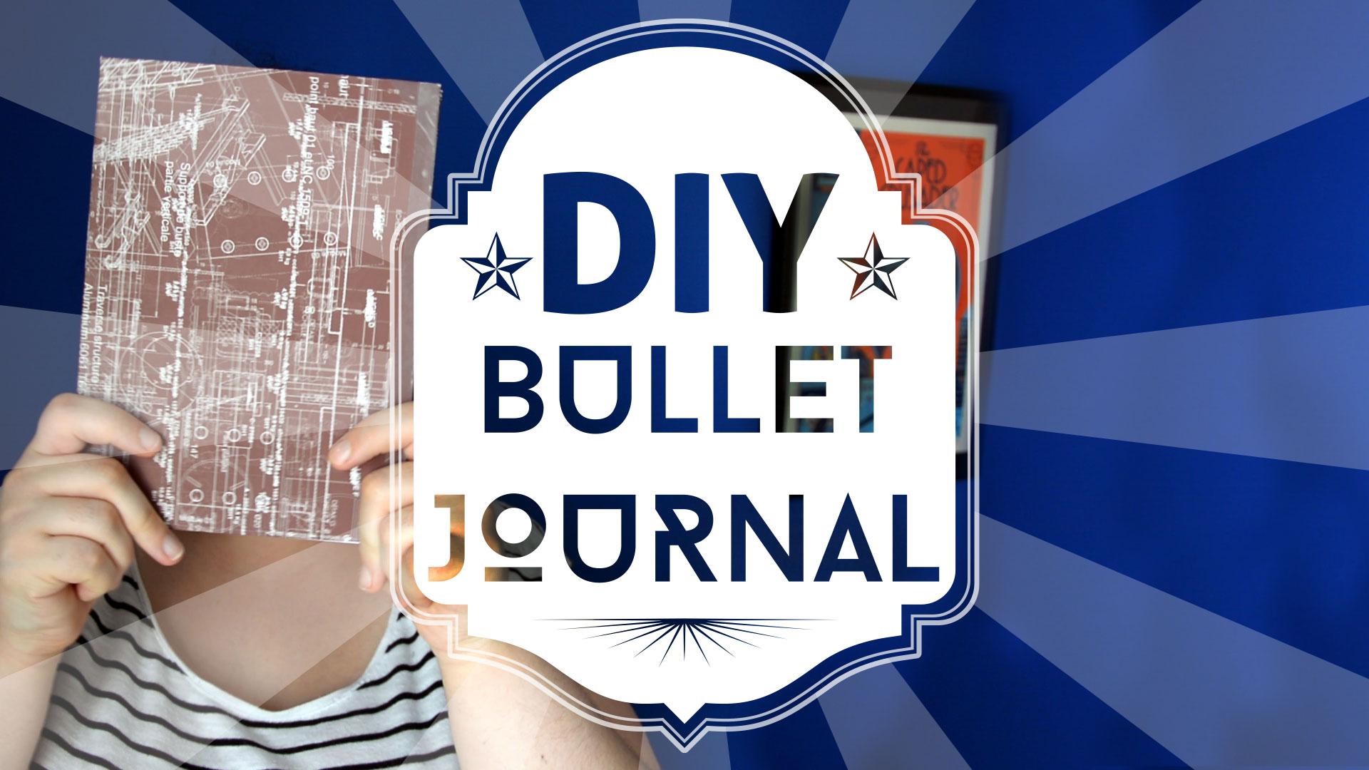 Fabriquer un bullet journal