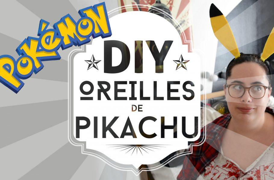 oreilles Pikachu DIY