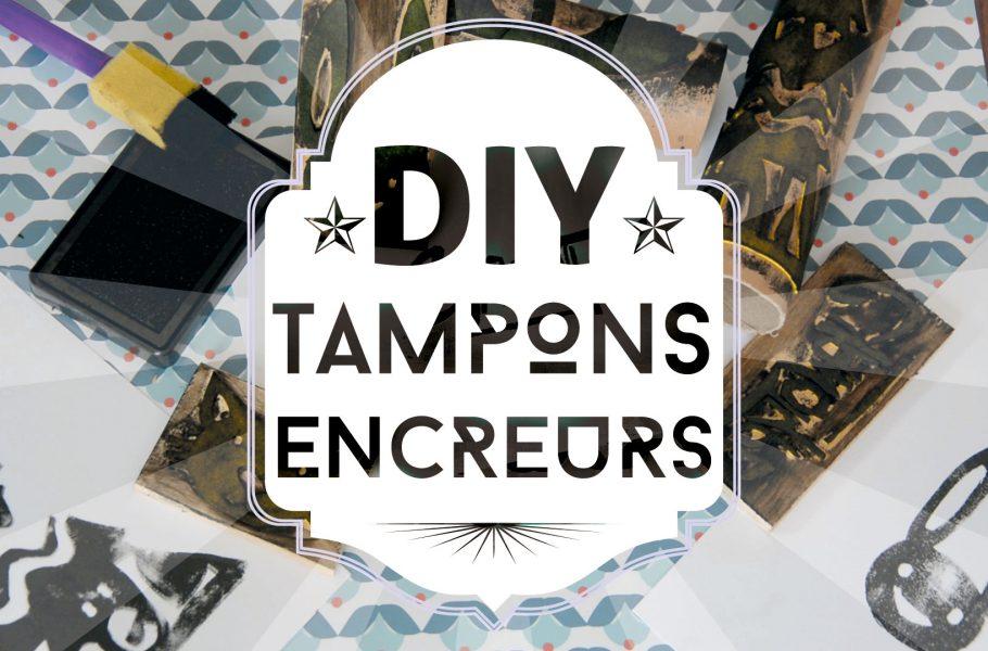DIY tampons encreur
