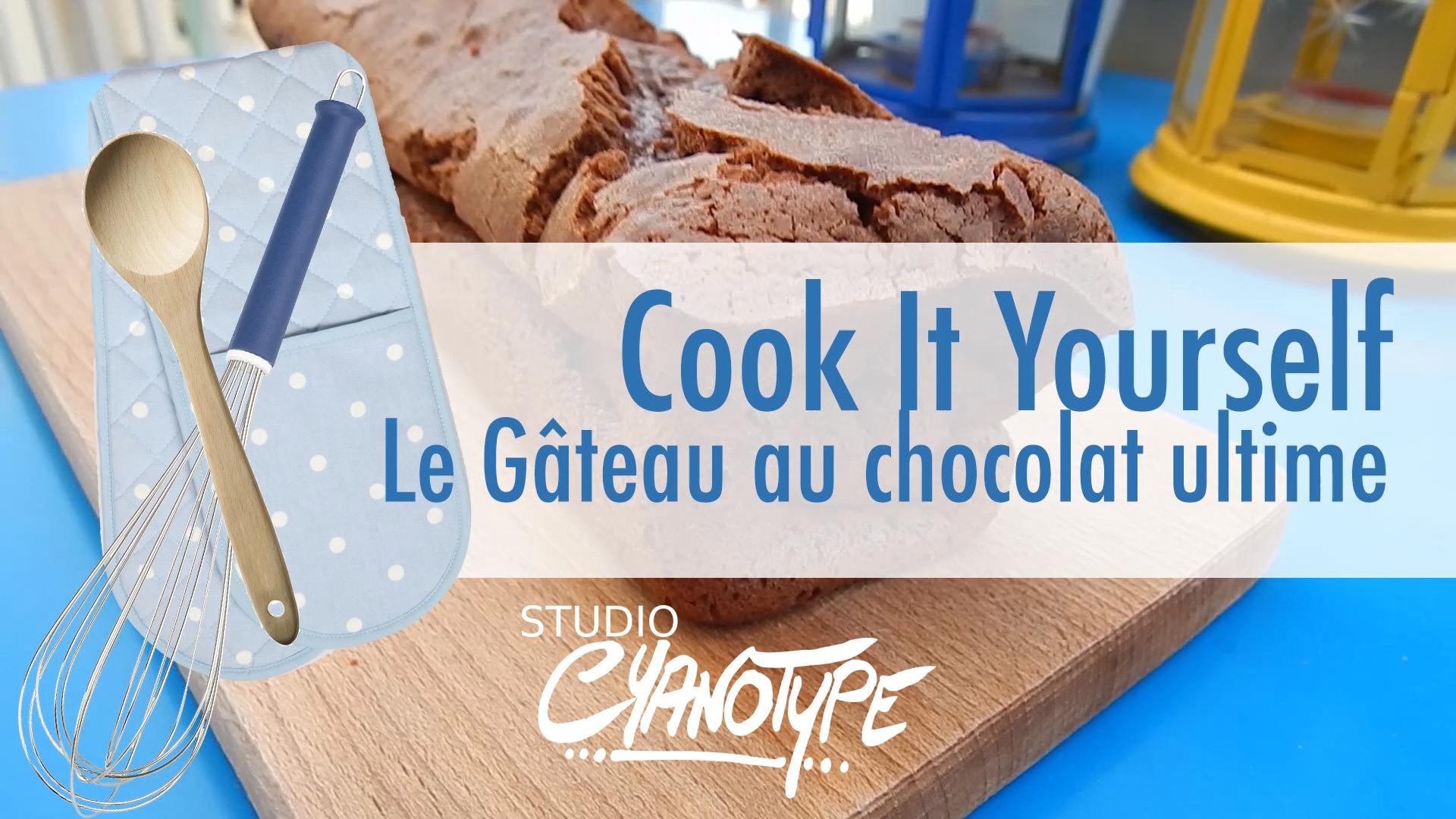 Le gâteau au chocolat ultime (et sans lactose)