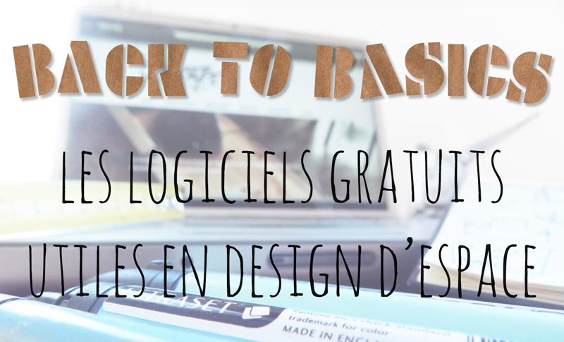 Back to basics : Les logiciels gratuits essentiels en design d'espace