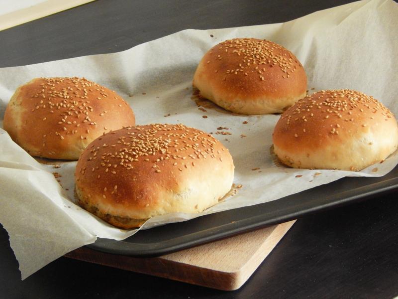 Buns à Burgers, la recette!
