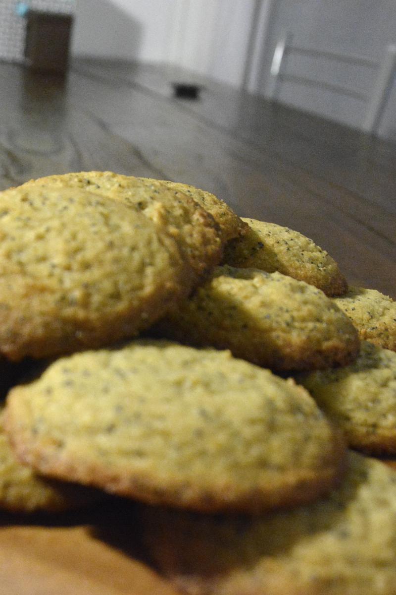 Cookies citron+pavot