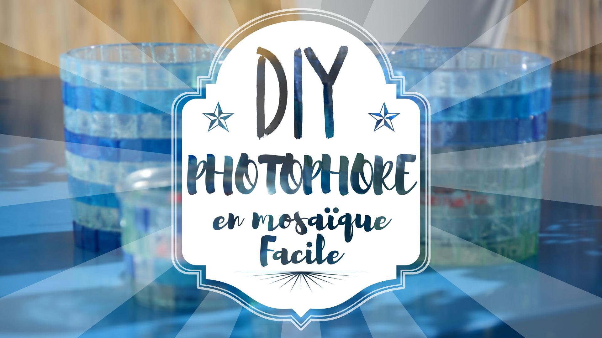 DIY : fabriquer un photophore en mosaïque