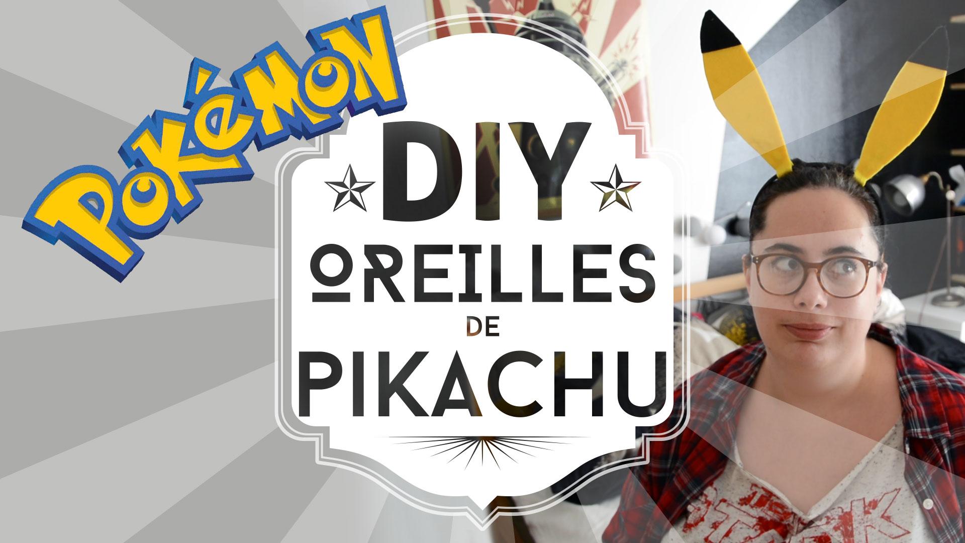 Des oreilles de Pikachu DIY :)