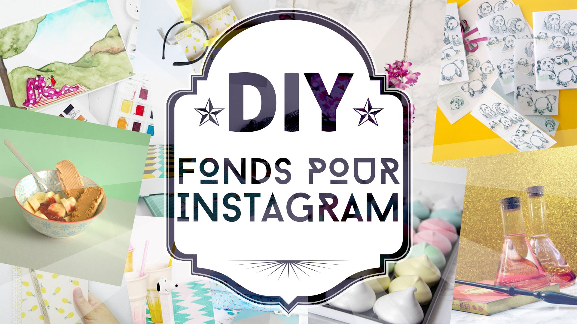 Mes fonds instagram DIY faciles et rapides