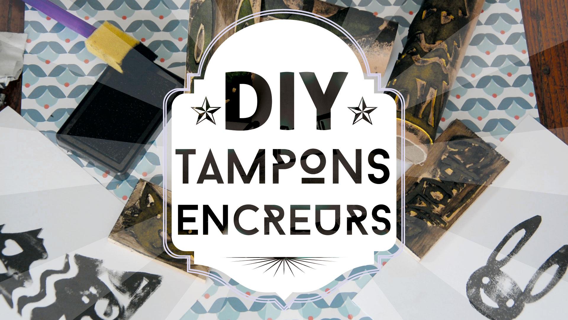 tuto DIY : tampons encreurs