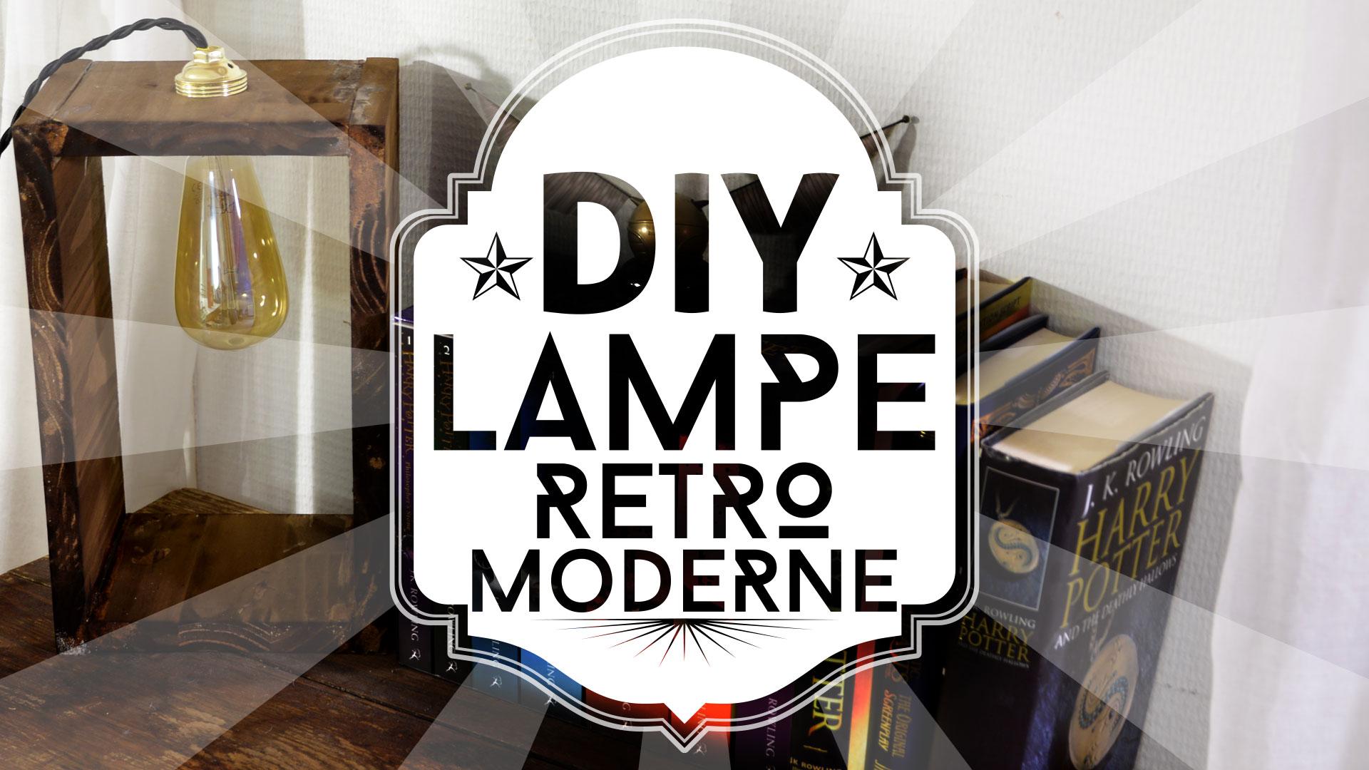 Une lampe retro-moderne